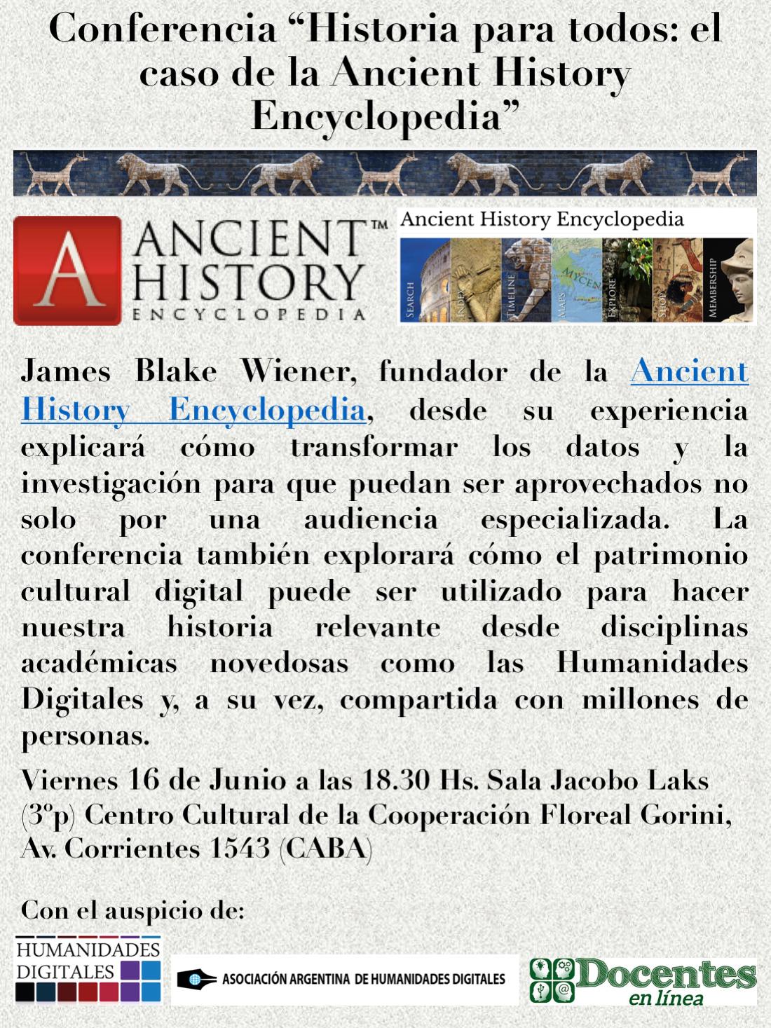 Conferencia Ancient History Encyclopedia