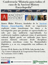 Conferencia Ancient History Encyclopedia