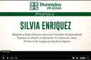 Tema del mes de agosto: Entrevista a Silvia Enríquez, directora de DeL